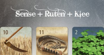 Kombination Sense Ruten Klee