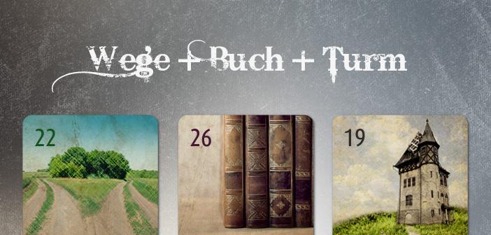 Kombination Wege Buch Turm