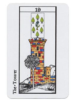 Lenormand de Marseille Turm