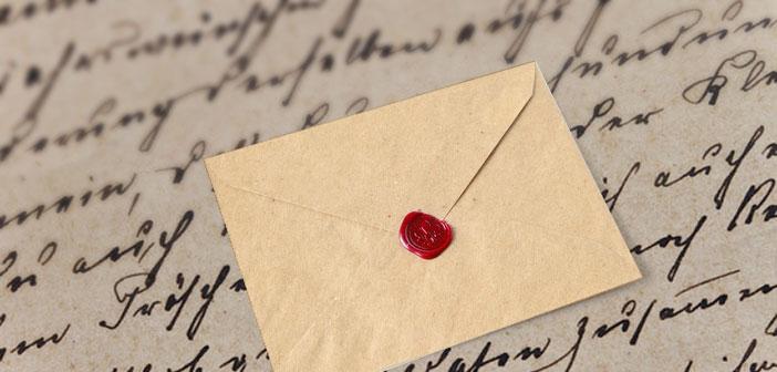 Kartenbedeutung der Lenormandkarte Brief