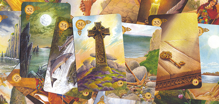 Celtic Lenormand Kartendeck