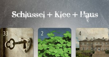 Kombination Schlüssel Klee Haus