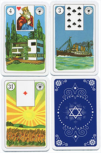 ASS Lenormand Wahrsagekarten