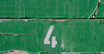 Große Tafel letzte vier Karten