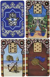 Die Zigeuner-Lenormand Orakelkarten