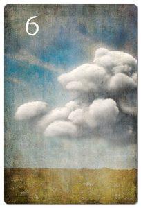 Mondnacht Lenormand Wolken