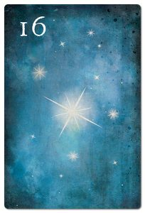 Mondnacht Lenormand Sterne