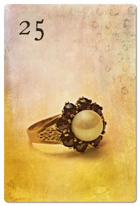 Mondnacht Lenormand Ring