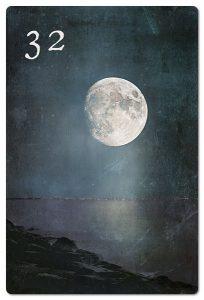 Mondnacht Lenormand Mond