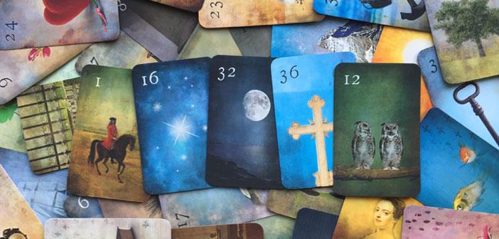 Das Mondnacht Lenormand – ein Kartendeck von Patrick Scheller
