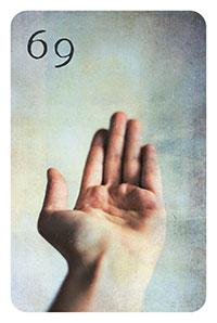69 - die Hand